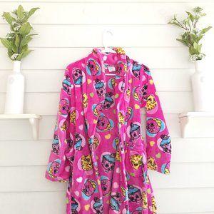Shopkins Bathrobe Girls Size 10/12